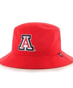 Arizona Wildcats Backboard Bucket Hat Red 47 Brand