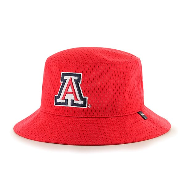 Arizona Wildcats Backboard Bucket Hat Red 47 Brand