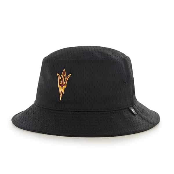 competitive price d253e dd554 Arizona State Sun Devils Asu Backboard Bucket Hat Black 47 Brand