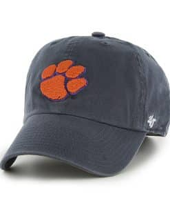 Clemson Tigers Franchise Navy 47 Brand Fitted Hat