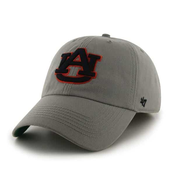 cheap for discount 4fe1d d8eb8 ... hot auburn tigers franchise gray 47 brand fitted hat a7180 9fdde
