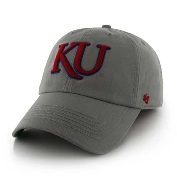 b0535da551cee Kansas Jayhawks Franchise Gray 47 Brand Hat - Detroit Game Gear
