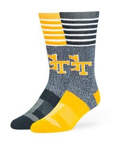 Georgia Tech Yellow Jackets Vernon Fuse Socks Navy 47 Brand