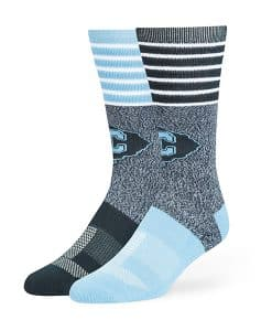 Citadel The Bulldogs Vernon Fuse Socks Navy 47 Brand