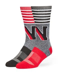 Northeastern Huskies Vernon Fuse Socks Black 47 Brand