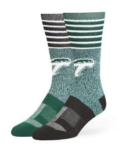 Tulane Green Wave Vernon Fuse Socks Dark Green 47 Brand