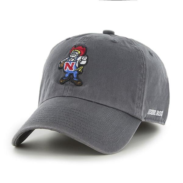 sale retailer 3067c 929b2 ... uk nebraska cornhuskers 47 brand franchise charcoal fitted hat b7085  f6b05