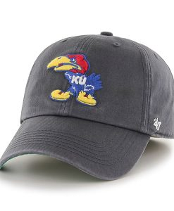 Kansas Jayhawks Franchise Charcoal 47 Brand Fitted Hat