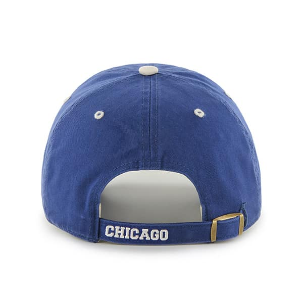Chicago Cubs 47 Brand Ice Clean Up Adjustable Hat Back