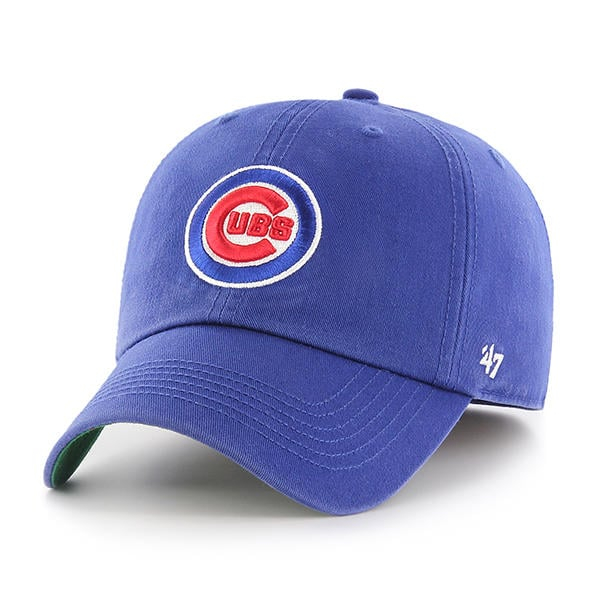 Chicago Cubs 47 Brand Franchise Blue Fitted Hat