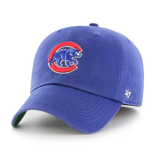 Chicago Cubs 47 Brand Franchise Classic Blue Fitted Hat