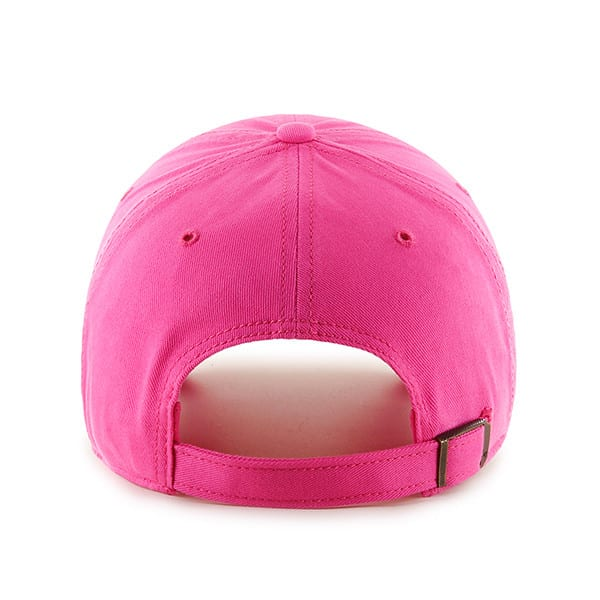 Chicago Cubs 47 Brand Women's Pink Miata Clean Up Adjustable Hat Back
