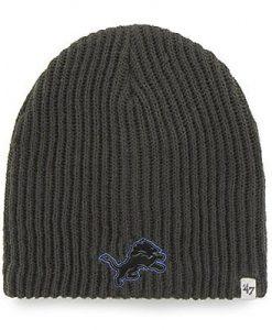 Detroit Lions Beanie Charcoal 47 Brand Hat