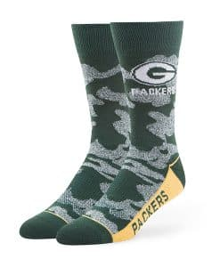 Green Bay Packers 47 Brand Dark Green Bayonet Fuse Socks