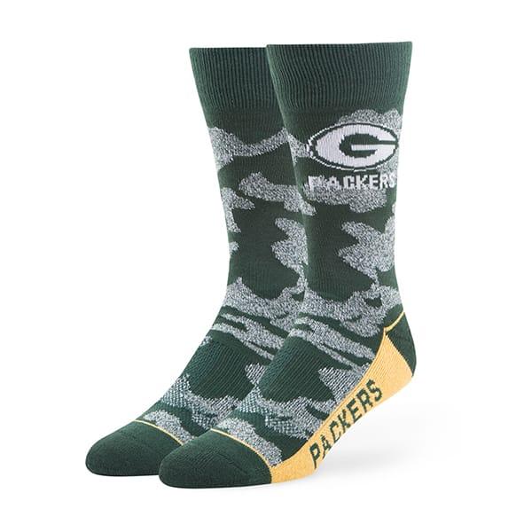 Green Bay Packers Bayonet Fuse Socks Dark Green 47 Brand