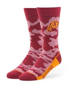 Washington Redskins Bayonet Fuse Socks Razor Red 47 Brand
