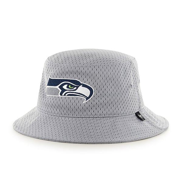 Seattle Seahawks Backboard Bucket Hat Gray 47 Brand