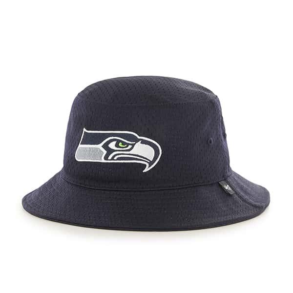 Seattle Seahawks Backboard Bucket Hat Navy 47 Brand