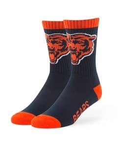 Chicago Bears Bolt Sport Socks Navy 47 Brand