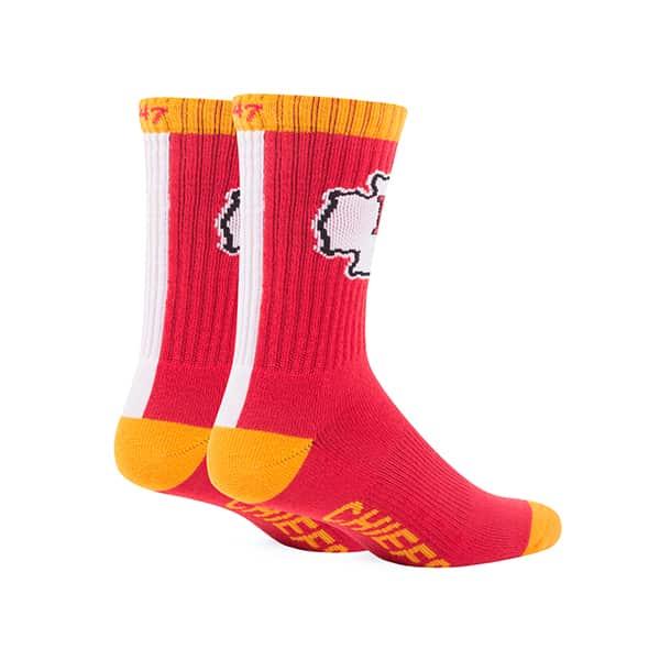 7a30dc883 Kansas City Chiefs Bolt Sport Socks Torch Red 47 Brand - Detroit ...