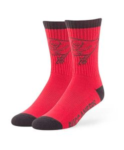 Tampa Bay Buccaneers Bolt Sport Socks Torch Red 47 Brand