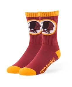 Washington Redskins Bolt Sport Socks Razor Red 47 Brand