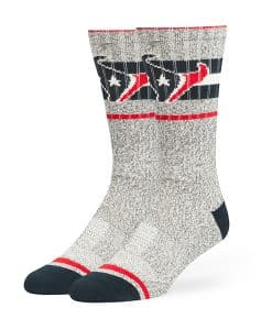 Houston Texans Collins Fuse Socks Brown 47 Brand