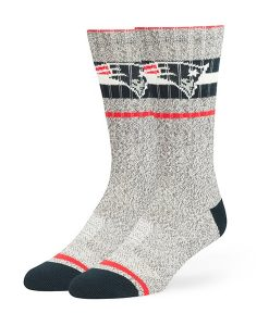 New England Patriots Collins Fuse Socks Brown 47 Brand