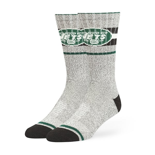 New York Jets Collins Fuse Socks Brown 47 Brand