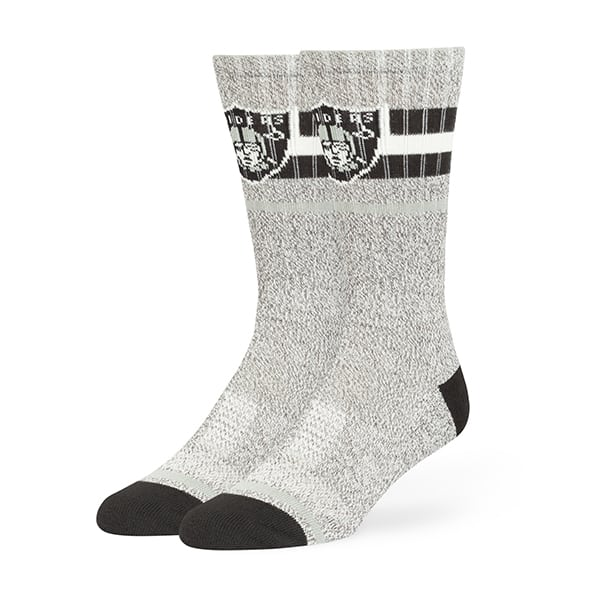 Oakland Raiders Collins Fuse Socks Brown 47 Brand