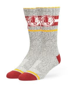 Washington Redskins Collins Fuse Socks Brown 47 Brand