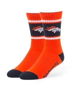 Denver Broncos Duster Sport Socks Orange 47 Brand
