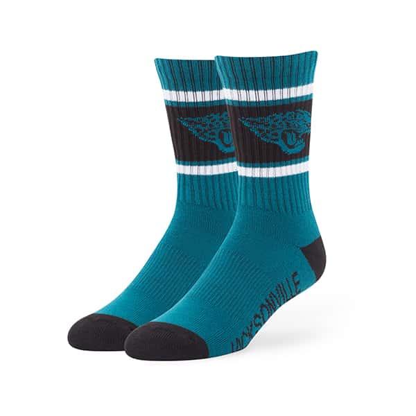 Jacksonville Jaguars Duster Sport Socks Dark Teal 47 Brand