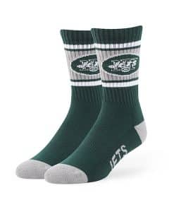 New York Jets Duster Sport Socks Dark Green 47 Brand