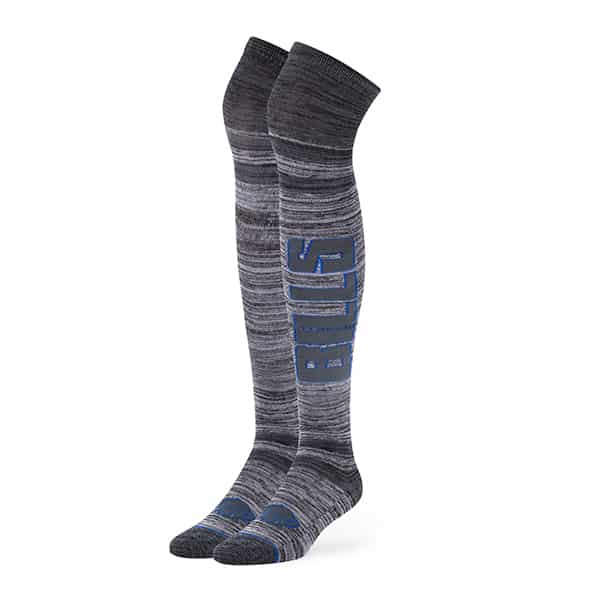Buffalo Bills Ellie Otk Socks Graphite 47 Brand