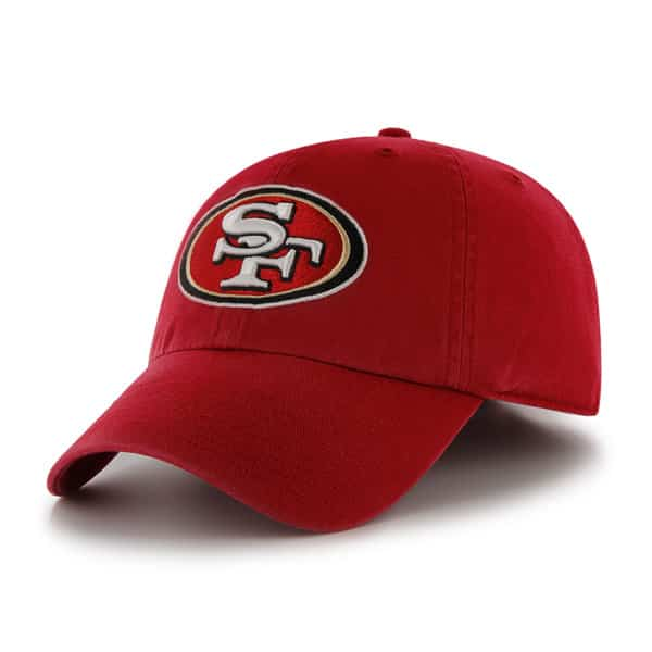 San Francisco 49Ers Franchise Red Hat Red 47 Brand
