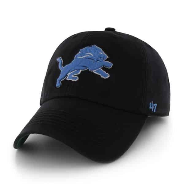 Detroit Lions Franchise Black 47 Brand Hat