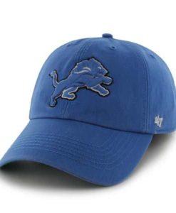 Detroit Lions Franchise Blue Raz 47 Brand Hat