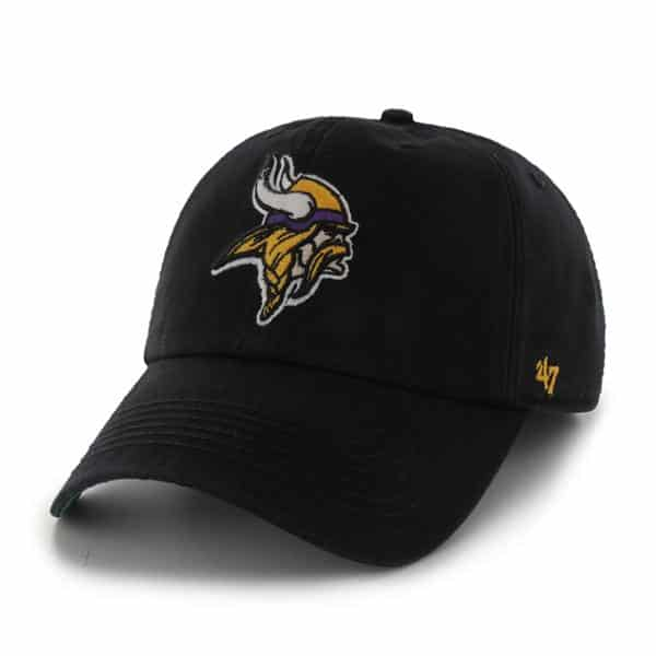 Minnesota Vikings Franchise Black 47 Brand Hat