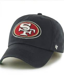 San Francisco 49Ers Franchise Black 47 Brand Hat