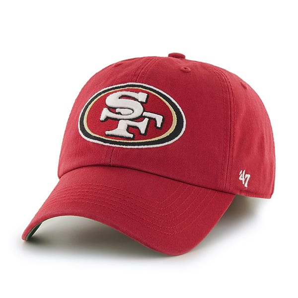 San Francisco 49Ers Franchise Red 47 Brand Hat
