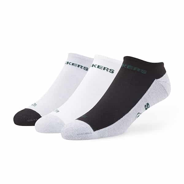 Green Bay Packers Gait Motion No Show Socks 3 Pack Tonal 47 Brand
