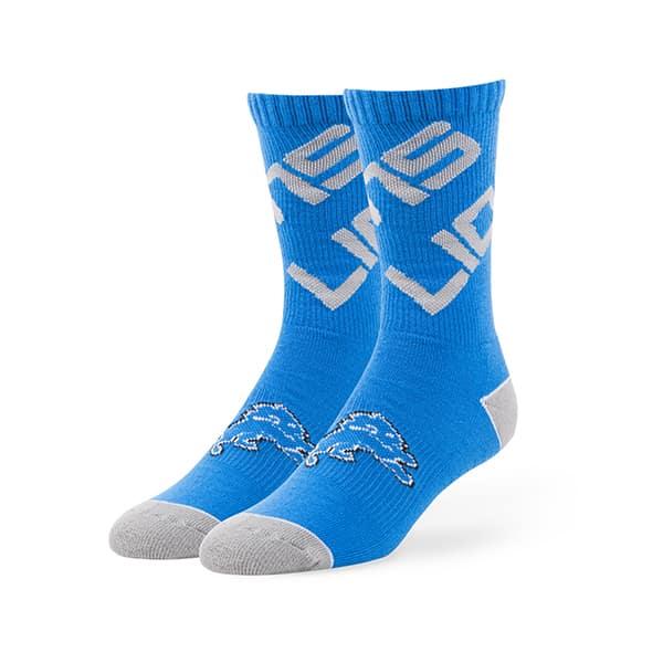Detroit Lions Helix Sport Socks Blue Raz 47 Brand