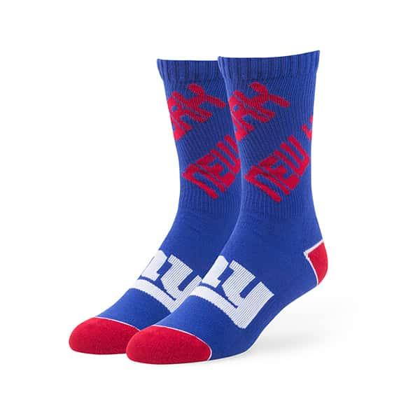 New York Giants Helix Sport Socks Royal 47 Brand