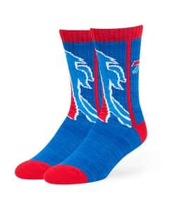 Buffalo Bills Hot Box Sport Socks Royal 47 Brand