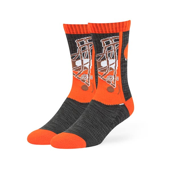 Cleveland Browns Hot Box Sport Socks Black 47 Brand
