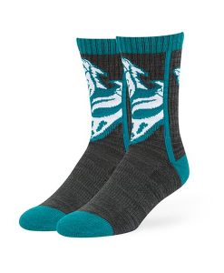 Jacksonville Jaguars Hot Box Sport Socks Black 47 Brand