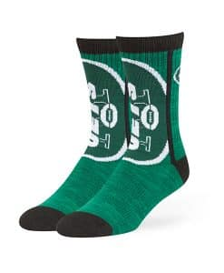 New York Jets Hot Box Sport Socks Dark Green 47 Brand