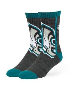 Philadelphia Eagles Hot Box Sport Socks Black 47 Brand