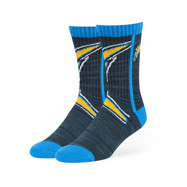 San Diego Chargers Hot Box Sport Socks Navy 47 Brand